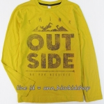 1980 ESPRIT T-Shirt - Mustard ขนาด 10-11 ปี (ส่งฟรี ลทบ.)
