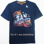 1882 Gap Kids San Frans Short Sleeve Tee - Navy Blue ขนาด 12 ปี
