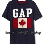 2026 GAP KIDS T-Shirt - Navy Blue ขนาด 8-9 ปี