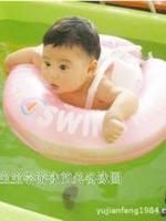 ห่วงยางว่ายน้ำเด็กเล็ก 0- 24M ช่วยพยุงหลัง และพยุงหน้าอก มี 2 สี (ฟ้า / ชมพู )