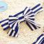 ชุดว่ายน้ำทูพีช ลายทาง ขาว-น้ำเงิน / ขาว-ชมพู + ผ้าคาดผม thumbnail 7