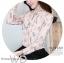 Preorder เสื้อทำงาน สีชมพู คอจีนแขนยาว พิมพ์ลายดอกไม้สวยหวาน เนื้อผ้าระบายอากาศได้ดี thumbnail 7
