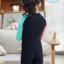 ชุดว่ายน้ำเด็กผู้หญิง เสื้อแขนยาว กางเกงขายาว สีดำ ลายมิ๊กกี้ (รุ่นนี้มีชุดคู่ แม่-ลูก ด้วยค่ะ) thumbnail 2