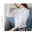 Pre-order เสื้อทำงาน โทนสีขาว พิมพ์ลายดอกไม้เล็กๆน่ารัก thumbnail 1
