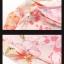 Preorder ชุดทำงาน สีชมพู คอกลมแขนระบาย ช่วงเอวแต่งริบบิ้นผูกปรับขนาดเก๋ไก๋ เนื้อผ้าพิมพ์ลายดอกไม้สวยหวาน thumbnail 5