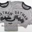 1948 BATMAN T-SHIRT - Grey ขนาด M,L (ส่งฟรี ลทบ.)