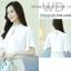 Preorder เสื้อทำงาน สีขาว แต่งทรงเสื้อคลุมสวยเก๋ไม่ซ้ำใคร แขนปล่อย thumbnail 4