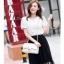 Pre-order กระเป๋าหนังแท้ สีขาว เนื้อนิ่ม เรียบหรู thumbnail 1