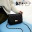 Pre-order กระเป๋าหนังแท้ สีดำ เนื้อนิ่ม งานสวย thumbnail 1