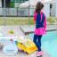 ชุดว่ายน้ำเด็กผู้หญิง แขนยาว ขายาว แยกส่วนเสื้อ กางเกง สีชมพู น้ำเงินเข้ม thumbnail 3