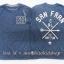 1981 ESPRIT T-Shirt - Navy Blue ขนาด 9 ปี (ส่งฟรี ลทบ.)
