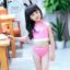 ชุดว่ายน้ำเด็กหญิงแฟนซี สีชมพู thumbnail 2