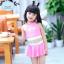 ชุดว่ายน้ำเด็กหญิงแฟนซี สีชมพู thumbnail 1