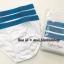 1990 Calvin Klein Boys' underwear กางเกงในเด็กชายสีขาวขอบฟ้า ขนาด 6-7,12-14 ปี