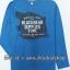 1977 ESPRIT T-Shirt - Blue ขนาด 14-15 ปี (ส่งฟรี ลทบ.)