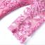 พร้อมส่ง ชุดเดรสทำงาน สีชมพู ลายลูกไม้ทั้งตัว ซับกระโปรงตัวในแต่งจีบพลีส ** พร้อมส่งไซส์ XL ** thumbnail 11