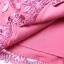 พร้อมส่ง ชุดเดรสทำงาน สีชมพู ลายลูกไม้ทั้งตัว ซับกระโปรงตัวในแต่งจีบพลีส ** พร้อมส่งไซส์ XL ** thumbnail 8