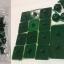 หมุดกาวแบบติด สีเขียว thumbnail 1