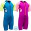 ชุดว่ายน้ำเด็กควบคุมอุณหภูมิ ป้องกันความหนาว / ป้องกันรังสี UV ผลิตจากผ้า Neoprene หนา 2 mm มี 2 สี---> สีชมพู/สีฟ้า thumbnail 3