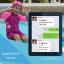 ชุดว่ายน้ำเด็กควบคุมอุณหภูมิ ป้องกันความหนาว / ป้องกันรังสี UV ผลิตจากผ้า Neoprene หนา 2 mm. มี 2 สี---> สีชมพู/สีฟ้า thumbnail 4