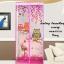 ม่านกันยุงการ์ตูนลายนกฮูก สีชมพู ขนาด90*210 thumbnail 1