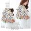 Pre-order เสื้อทำงาน คอปก สีขาว พิมพ์ลายดอกทิวลิปเหลือง งานสวยน่ารักมาก thumbnail 6