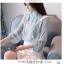 Pre-order เสื้อทำงาน แต่งระบายสวยหวาน เนื้อผ้าซีฟองใส่สบาย ระบายอากาศได้ดี thumbnail 2
