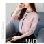 Pre-order เสื้อทำงาน สีชมพู คอระบายสวยหวาน แต่งมุกเรียงด้านหน้าไม่ซ้ำใคร thumbnail 2