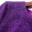 Preorder ชุดทำงาน สีม่วง แบบเก๋ แต่งแนวคริสตัลช่วงเอวและหน้าขา ลายลูกไม้ในเนื้อผ้าสวยหรู thumbnail 8