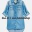 2007 Next UK Jeans Dress - Light Blue ขนาด 8,9 ปี