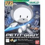 HGPG 1/144 Petit'GGuy Graham Aker WHITE & Pla Card 500Yen