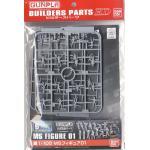 1/100 MS Figure 01 (Gundam Model Kits)