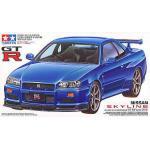 (มี1 รอเมลฉบับที่2 ยืนยันก่อนโอน )no210 1/24 Nissan Skyline GT-R V-Spec (R34) (Model Car)