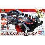 (เหลือ 1 ชิ้น รอเมล์ฉบับที่2 ยืนยัน ก่อนโอน) 95219 1/32 Mini 4WD JR Slash Reaper Clear Orange Special VS Chassis