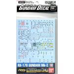 Gundam Decal 102 rg mkII
