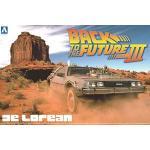 (เหลือ 1 ชิ้น รอเมล์ฉบับที่2 ยืนยัน ก่อนโอน) Back to the Future De Lorean Part III & Railroad (Model Car)