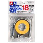 87032 Masking tape 18 mm. (มีที่ตัด) (ยาว18ม.)