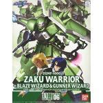 34099 1/100 ZAKU WARRIOR + BLAZE WIZARD & GUNNER WIZARD 3000yen (Gundam Model Kits)