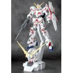 hg1/144 RX-0 Unicorn Gundam (Destroy Mode) + Head Display Base