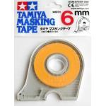 87030 Masking tape 6 mm. (มีที่ตัด) (ยาว18ม.)