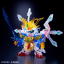 Limited Gundam BASE Tokyo SD LEGEND BB Musha Godmaru (final battle ver.) [Clear color] thumbnail 3