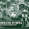 (มี1รอเมลฉบับที่2 ยืนยันก่อนโอน P-bandai HGBF Command Fumina(Plastic model)