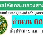 สำนักงานปลัดกระทรวงสาธารณสุข รับสมัครสอบแข่งขันเพื่อบรรจุและแต่งตั้งเข้ารับราชการ ตั้งแต่วันที่ 15 พ.ค. - 6 มิ.ย.2561