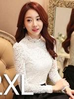 สีขาว 2XL (พร้อมส่ง)