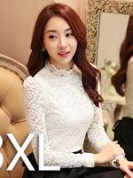 สีขาว 3XL (พร้อมส่ง)