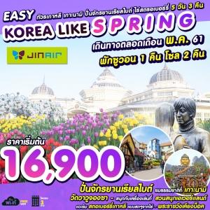 EASY LIKE SPRING IN KOREA