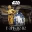 1/12 C-3PO & R2-D2 5500yen (โมประกอบ)*