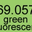 mecha vallejo 69. 057 green fluorescent 17 ml.