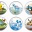 (เหลือ 1 ชิ้น รอเมล์ฉบับที่2 ยืนยัน ก่อนโอน) Pokemon Terrarium Colection 1 ยกเซ็ต ( 1เซ็ตได้ครบ 6 แบบ)