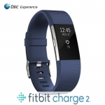 Fitbit Charge 2 Blue Large รับประกันศูนย์ 1 ปี